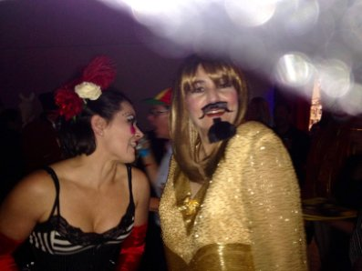 How to support your mission:Acrobat & Bearded Lady at SOJOURN GSD's Cirque du so Gay